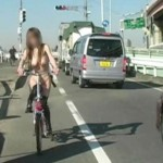 マジか!?遂に日本でも全裸サイクリング?全裸チャリダーがマジキチすぎるwww