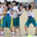 ブルマとは違う良さがる女子校体育祭www現役の女子高生がエロ可愛いなぁwww