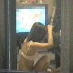 【 覗き 】これはガチ!?カーテンの隙間から覗いた他人の家…素人娘の私生活を覗き見る民家隠し撮り!